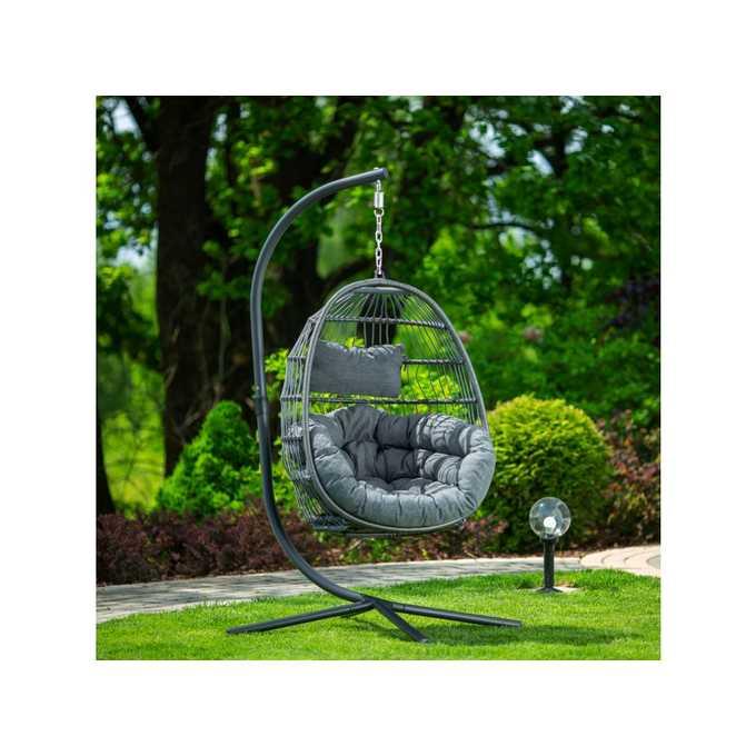 Huśtawki ogrodowe - sposób na wypoczynek i wyjątkową aranżację podwórka.