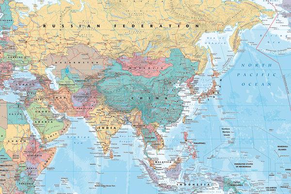 Mapa świata na ścianę - cały świat bliżej Ciebie!